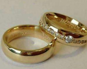 ring wedding diamond gold