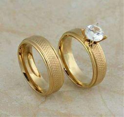 ring wedding diamond gold  part gold