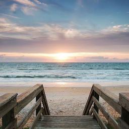 freetoedit sunrise beachview picsart