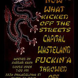 kickedoffthestreets chino kots gig punk