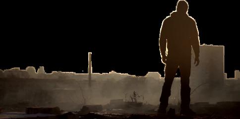 ftestickers man standing silhouettestickers freetoedit