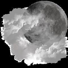 moon cloud sky freetoedit
