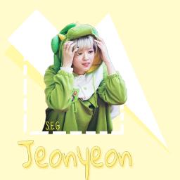 freetoedit jeonyeon jeonyeontwice twice twiceedit