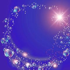 shine brillo glitter lavanda burbujas
