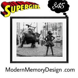 supergirlstickerremix freetoedit wallstreet fearlessgirl bull