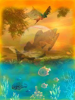 freetoedit edit stickers mybackground fishes