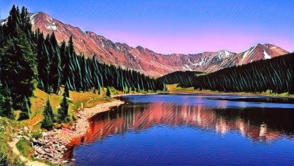 freetoedit nature lakes mountains badlandsmagiceffect