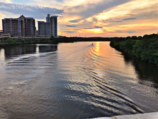 sunset reflection freetoedit