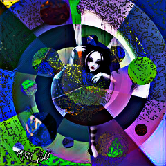freetoedit moonlightmagiceffect dispersiontool tinyplanet my