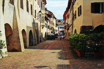 italy tirol neumarkt city