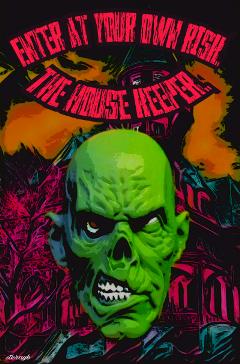 horror popart retro vintage colorful