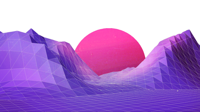 #ftestickers #backgroundstickers #mountainstickers #mountain #vaporwave #aesthetic