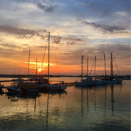 freetoedit goodmorning sunrise septembermorning harbour