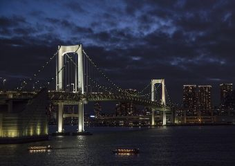 freetoedit japan rainbowbridge today night