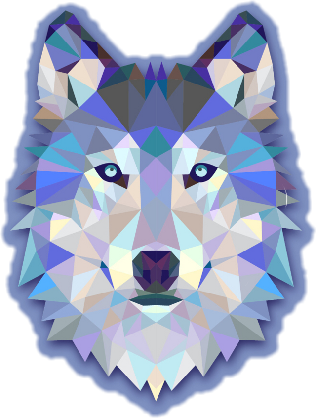 #wolf#wolfie#blue#nice#start#sticker#freetoedit