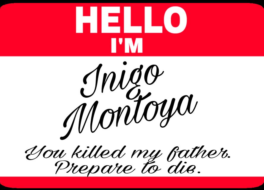 #inigomontoya