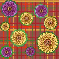 fall autumn pattern wallpaper flower