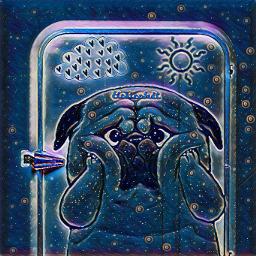 freetoedit pug sun meadow fridgeremix