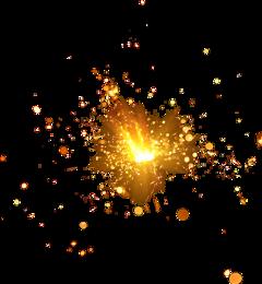 chispas shine brillo glitter fuego