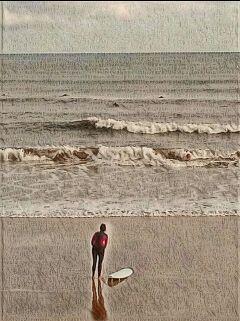 beach sea peace surf surfer