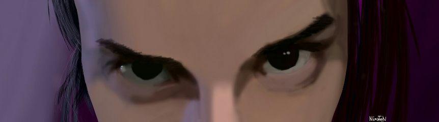 mydrawing eyes rage mywork wdpemotions