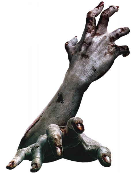 zombie arms hands dead killer kill horror scary effects...