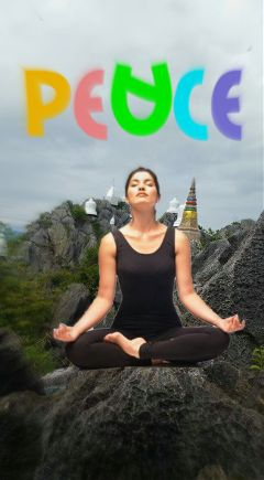 freetoedit yoga peace