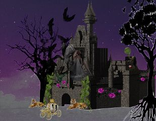 freetoedit reedited remixed castle spooky