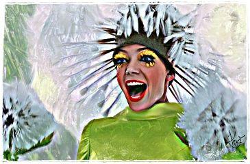 dandelion woman pushingdaisies googleimage makeawish freetoedit