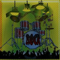 rockandroll music staygoldmagiceffect bateria lovely freetoedit