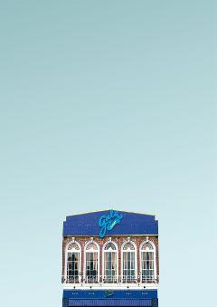 freetoedit urban building modern blue
