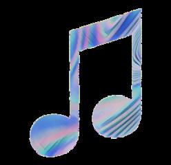 musicnote note music shiny sticker