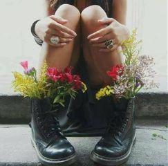 freetoedit boots flowers legs hands