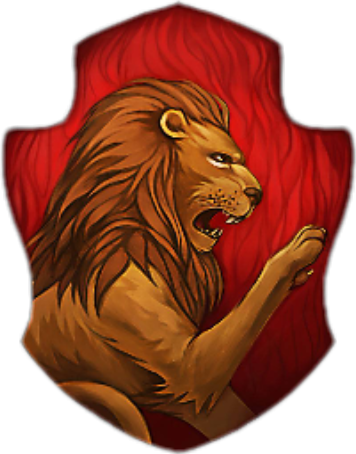 Gryffindor Hogwarts Lion Harrypotter Hermionegranger