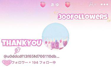 thankyou followers 300followers