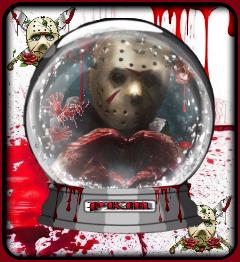 freetoedit myedit halloween jasonvoorhees bloody