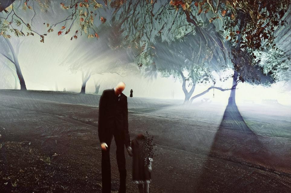 #slender #slenderman #holloween #halloween #horror