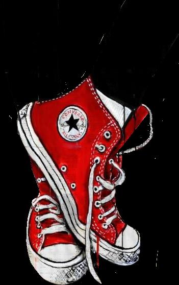 #red #converse #tumblr #legs
