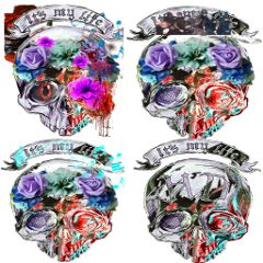 freetoedit skulls halloween music slipknot