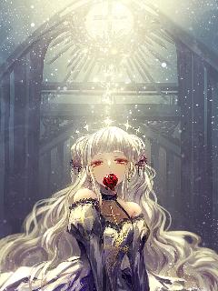 animegirl emotions dead serious serenity