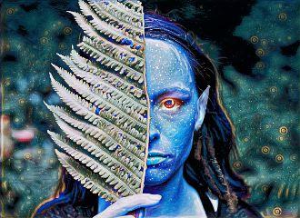 freetoedit avatar leaf constellation midnighteffect