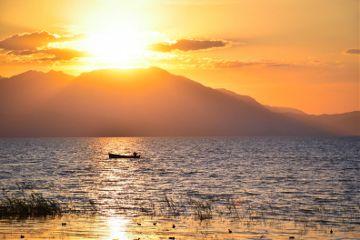 beautiful sunset sunshine nature mountains dpcmyweekend freetoedit