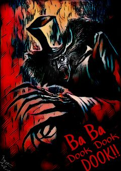 freetoedit javirgraphics deviantart babadook movie
