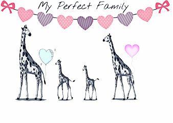 freetoedit family giraffe perfect cute