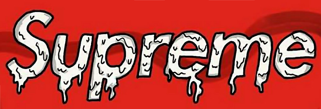 #sticker #supreme #derretido #freetoedit