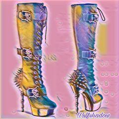 pastelmagiceffect boots badass
