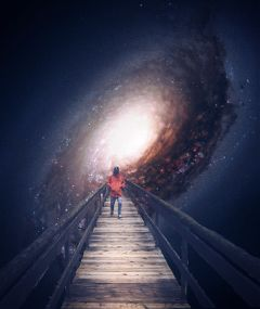 freetoedit wonder galaxy bridge outerspace