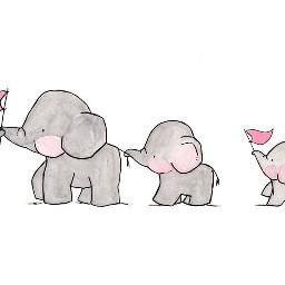 freetoedit elepant family
