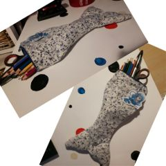 sewing pencilcase handmade mermaidtail ownidea