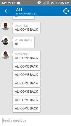 comeback wemissyou